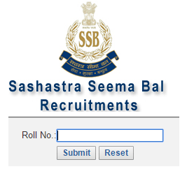 SSB Constable Driver Result 2017