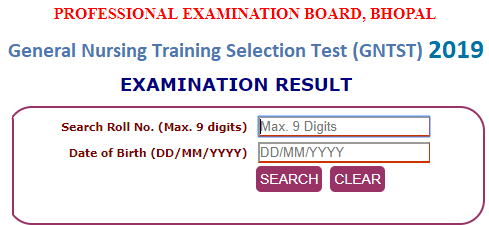 MP GNTST Result 2019